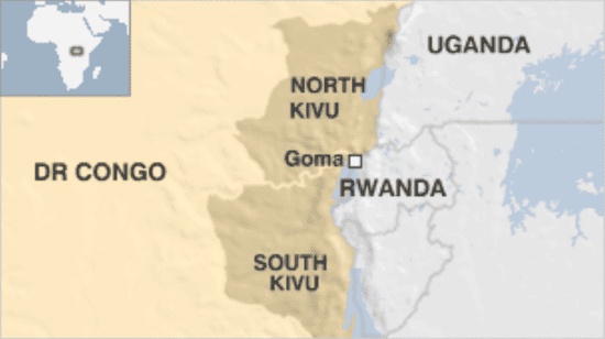 Africa, Democratic Republic of Congo, Kivu region, Goma city