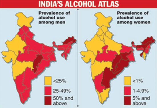 Highest Alcohol Content Drink In India