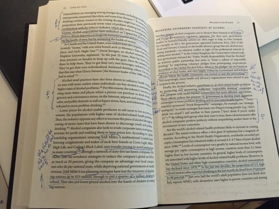 Notes and thoughts while reading Lethal But Legal