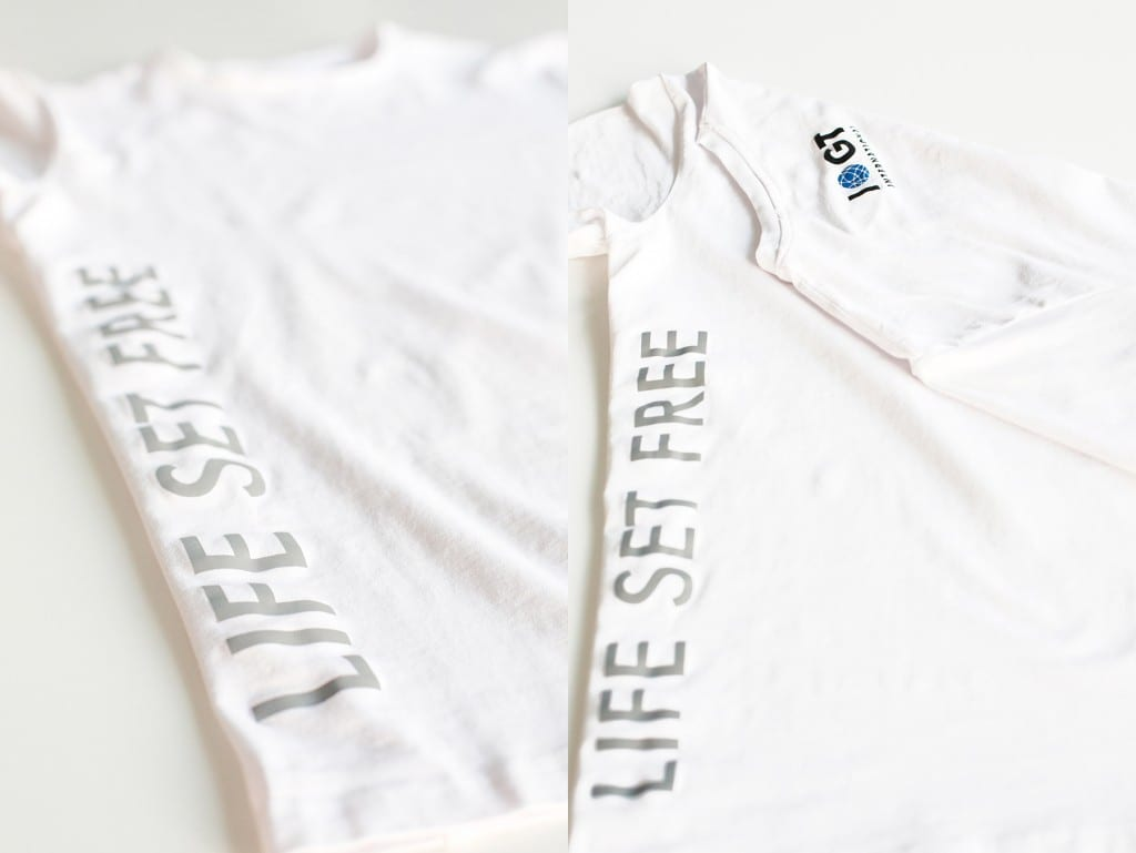 LifeSetFree Tshirt_detail