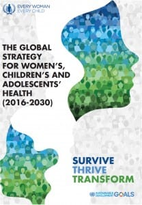 the global strategy for children women and adolescent health