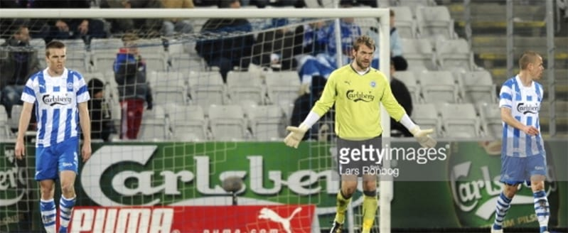 Roy Carroll during his time at Danish Odense BK