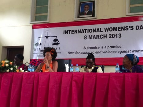 International Women's Day 2013 Dar Es Salaam