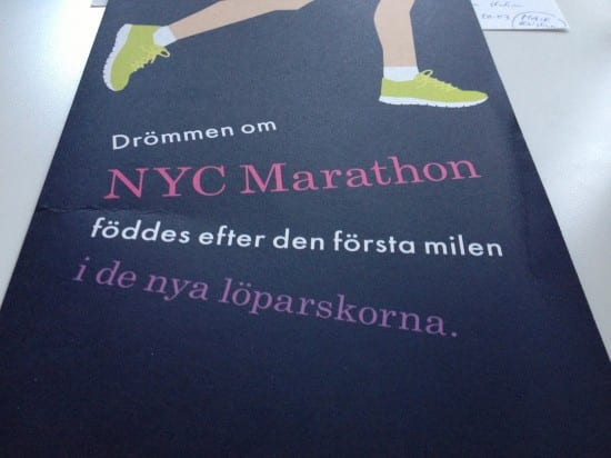 """""""Dream of MYC Marathon was born after the first mile in the new running shoes"""""""