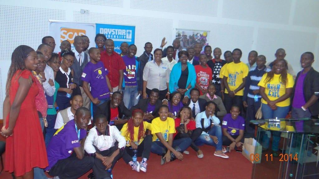 Volunteers and organisers #HeartDriven