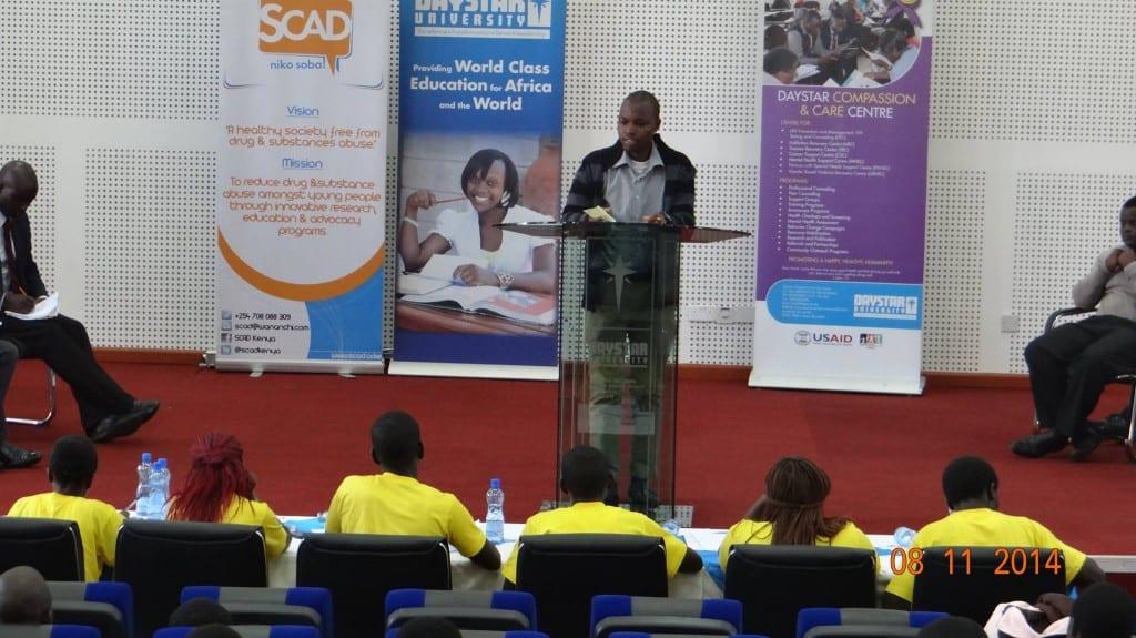 At Daystar University, Nairobi