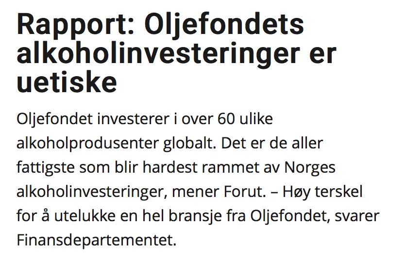 IP Norwegian newspaper